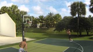 Some Light Dunk Practice with JT to start 2015