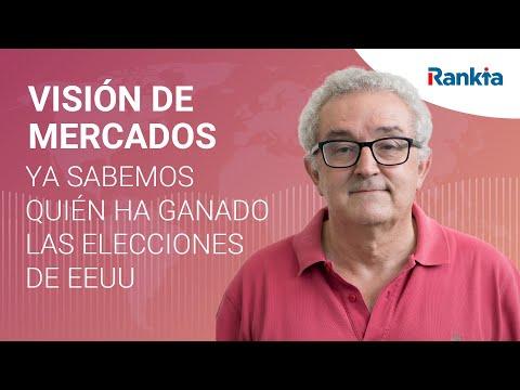 Enrique Roca posee información privilegiada y ya puede decirnos el ganador de las elecciones de EEUU. Los mercados americanos rebotaron en el 3320 del SP500 , la volatilidad bajó del 40 al 29 y el Nasdaq se disparó. y ello sin saber quien ha ganado las elecciones.