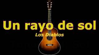 Un Rayo de Sol (Los Diablos) acordes guitarra cover