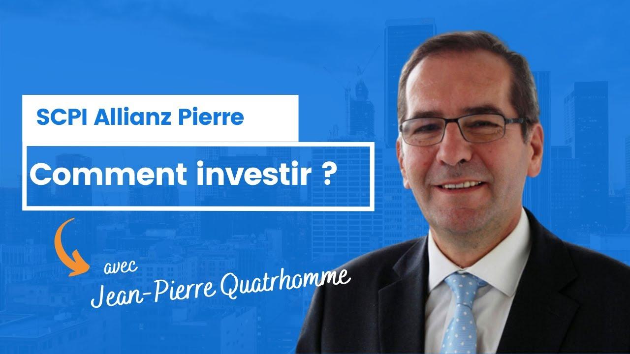 Comment investir dans Allianz Pierre ?