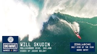 Will Skudin at Mullaghmore - 2017 Billabong Ride of the Year Entry - WSL Big Wave Awards