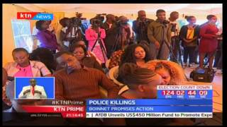 Inspector General Joseph Boinnet has condemned police killings saying action will be taken