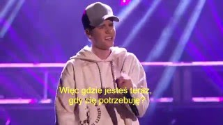 Justin Bieber Where are u now Tłumaczenie PL (American Music Awards 2015)