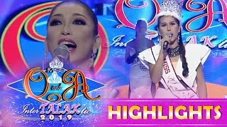 It's Showtime Miss Q and A: Ayesha Lopez face the reigning queen Sashi Giggle Esmeralda