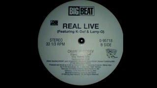 Real Live    Crime Is Money K Def Instrumental 1995 HQ