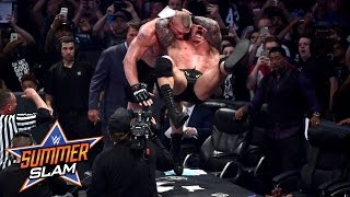 Randy Orton vs. Brock Lesnar: SummerSlam 2016, only on WWE Network