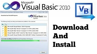 How To Download and Install Visual basic 2010 width=