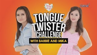 WATCH: Tongue twister challenge with Barbie and Mika