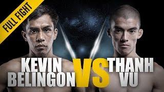 ONE: Full Fight | Kevin Belingon vs. Thanh Vu | Crushing Left Hook | April 2013 width=