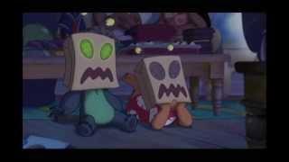 Stitch glitching scene