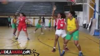 Seleccion B/tura de Bloncesto Femenina  Final copa Navideña