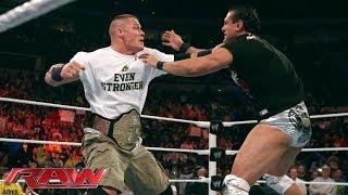John Cena attacks Alberto Del Rio: Raw, Nov. 18, 2013