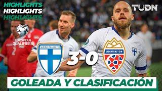 Highlights | Finlandia 3 - 0 Liechtenstein | UEFA EURO Qualifiers - G-J -J9 | TUDN
