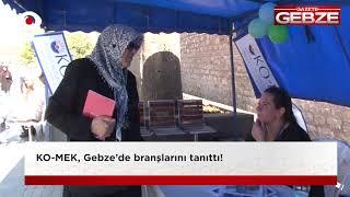 KO-MEK, Gebze'de branşları tanıttı!