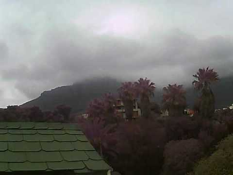 Timelapse Video – Table Mountain – 07/08/2010