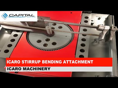 ICARO Stirrup Bending Attachment