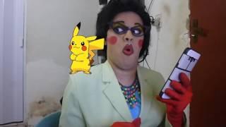 A Irmã elerta sobre o Pokémon