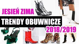 ?? TRENDY OBUWNICZE JESIEN ZIMA 2018/19 ShoeLove