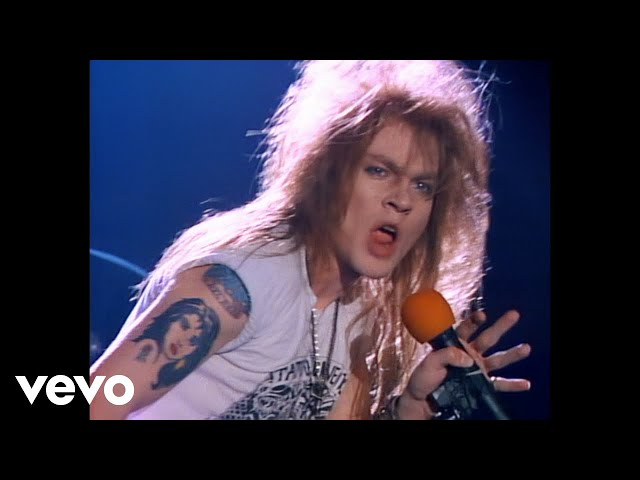 "Videoclip oficial de ""Welcome to the Jungle"" de Guns N' Roses"