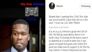 50 CENT Rips 2PAC MOVIE
