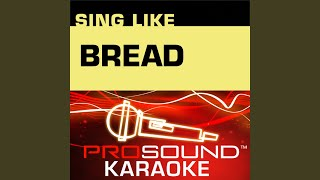 If (Karaoke Instrumental Track) (In the Style of Bread)