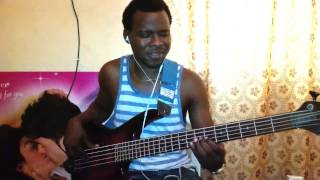 Engr teebass  oriki by Tim Godfrey and the extreem crew bass cover