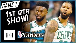 Boston Team 1st Qtr 36 Pts Highlights - Game 1 | Cavaliers vs Celtics ECF | 2018 NBA Playoffs