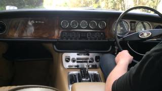 Jaguar Xj6 Series 1 test drive - Bradley James Classics
