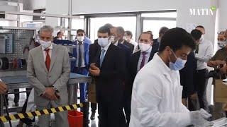 «iSmart» : Inauguration de la ligne de production de la borne de recharge 100% marocaine pour véhicules électriques