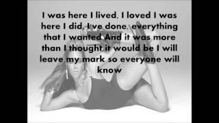 Beyonce - i was here Lyrics HD (HQ)