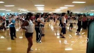 Zumba-Flamenco El Meneito class 2009 Hawaii!!!