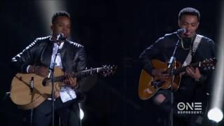 Jonathan McReynolds and Travis Greene Go Acoustic At The Stellar Awards!