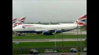 Heathrow Airport Spotting May 2012