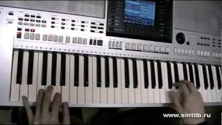 Arash & Helena - Broken Angel игра на синтезаторе