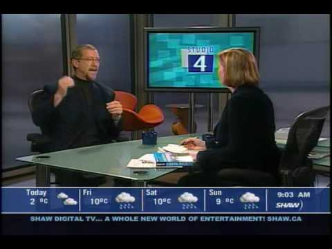 Christopher P Baker interviews about Costa Rica on Studio4, part 1