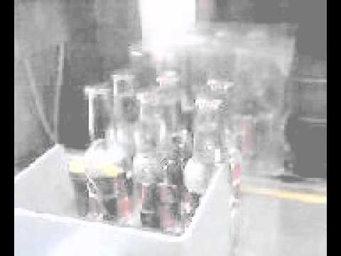 Otomatik Şişe Etiketleme ve Shrink ambalaj otomasyonu.avi