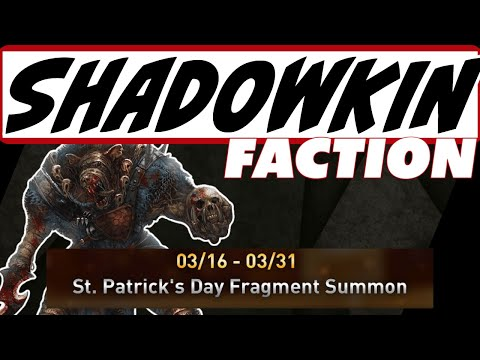 New faction SHADOWKIN, fusion details, update 3.40, clan activities-HA Raid Shadow Legends