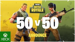 Fortnite - 50v50 Announce Trailer