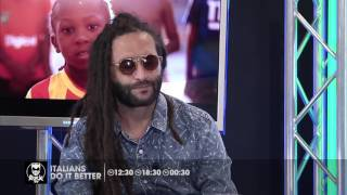 Alborosie e il mix rock reggae...