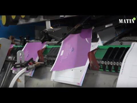 Video : Impression du livre scolaire : Les Imprimeries Le Matin relèvent le défi