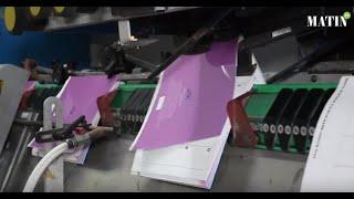 Impression du livre scolaire : Les Imprimeries Le Matin relèvent le défi