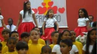 coreografia infantil Deus nos amou