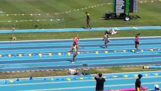 Ebony Collins 100m