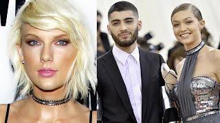 Gigi Hadid Made Taylor Swift & Zayn Malik 50 Shades Darker Duet 'I Don't Wanna Live Forever' Happen
