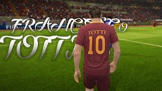 FIFA 17 - Farewell Francesco Totti | One Club Man | 1080p