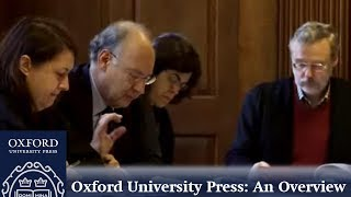 Oxford University Press  (OUP) -- an overview