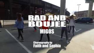 BAD AND BOUJEE - Migos | Richmond Urban Dance