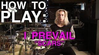 Wyatt Stav - I Prevail - Scars (Drum Lesson)