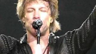 Bon Jovi 3/9/11 Chicago Lay Your Hands On Me INTRO