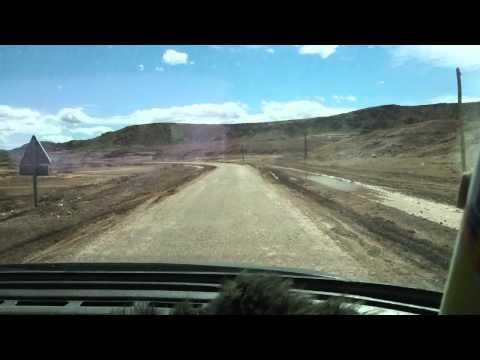 Road P1506 Ait Ben Haddou – Tazentoute (near Ouarzazate), Morocco. 13.03.2011